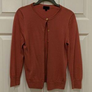 J. Crew cashmere cardigan size M